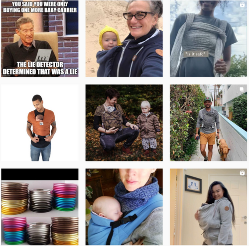 baby carriers and babywearing on instagram share your pics @Littlezenone