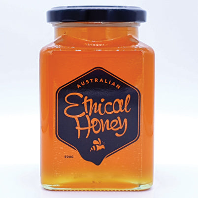 500gm Light Honey - Yellow Box