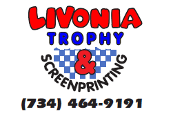 Livonia Trophy & Screenprinting