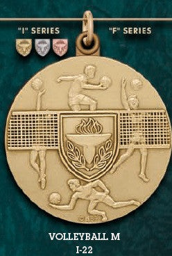 Volleyball M. Medal – 1-3/4""