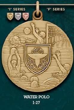 Water Polo Medal – 1-3/4""