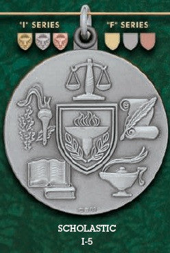 Scholastic Medal – 1-3/4""