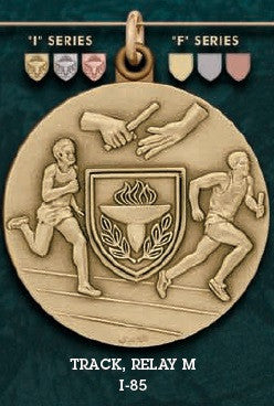 Track Relay M. Medal – 1-3/4""