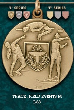 Track Field Events M. Medal – 1-3/4""