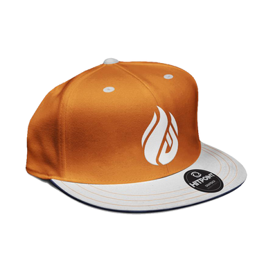 ECS Flame Snapback - Orange - FACEIT Global Store