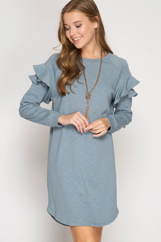Misty Blues Dress