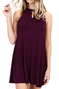 Keep it Simple Dress Purple