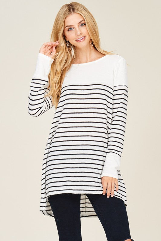 Call Me Stripes Top