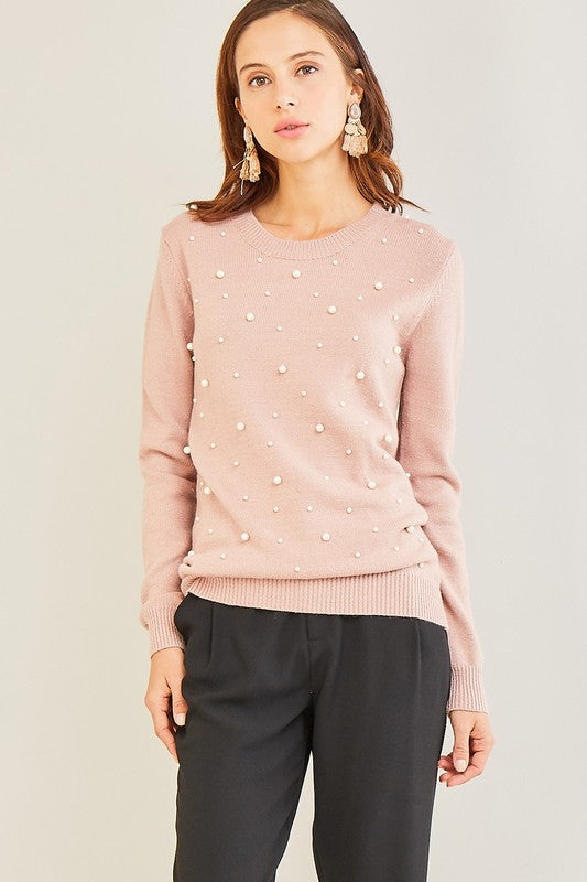 Blushing Pearl Sweater
