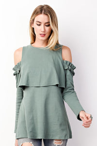 Basil Beauty Top