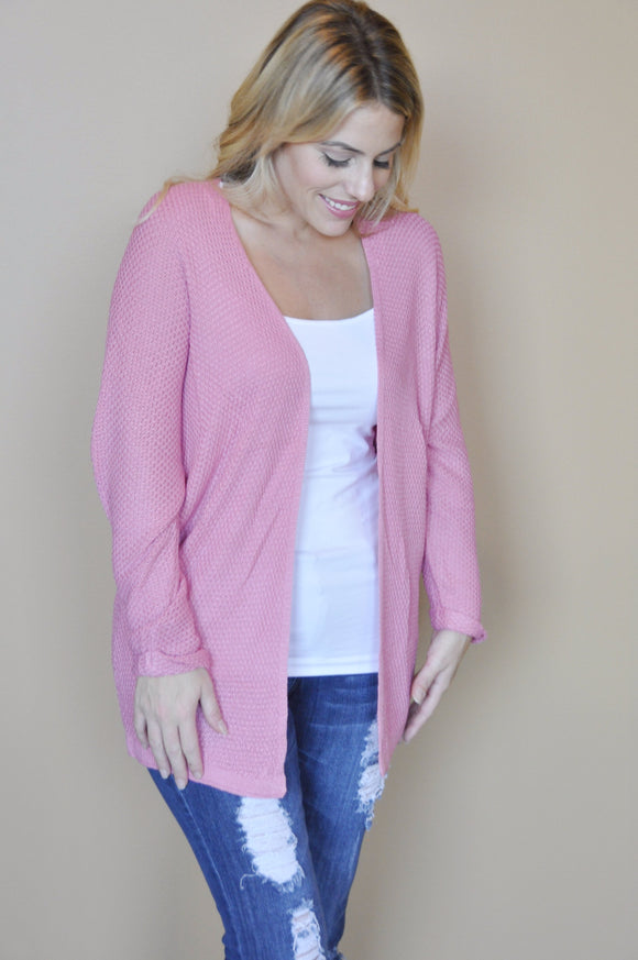 Pretty in Pink Everyday Cardigan