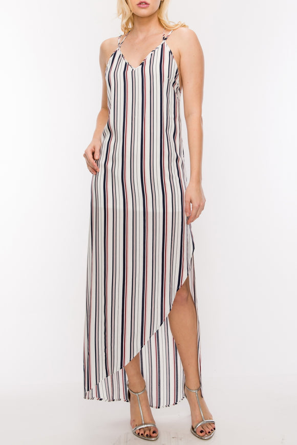 Simply Striped Maxi Ivory