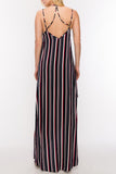 Simply Striped Maxi Navy