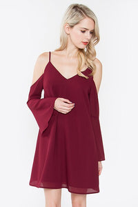 Cold Shoulders Dress