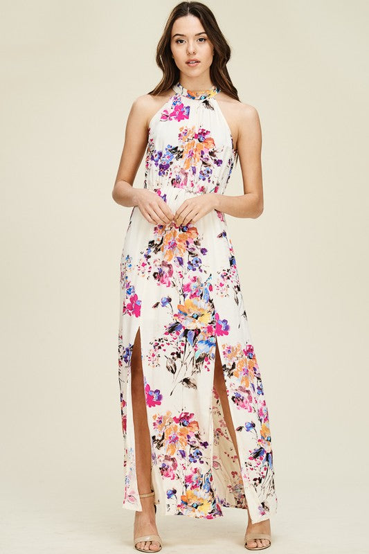 Fabulous in Floral Maxi