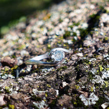 Blue Yonder Montana Light Blue Sapphire Ring