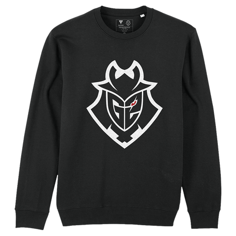 G2 Essentials Crewneck - Black - G2 Esports Official EU Shop