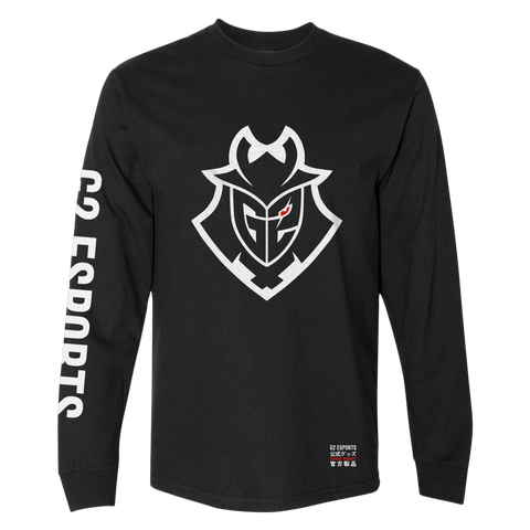 G2 Essentials Long Sleeve Tee - Black - G2 Esports Official EU Shop