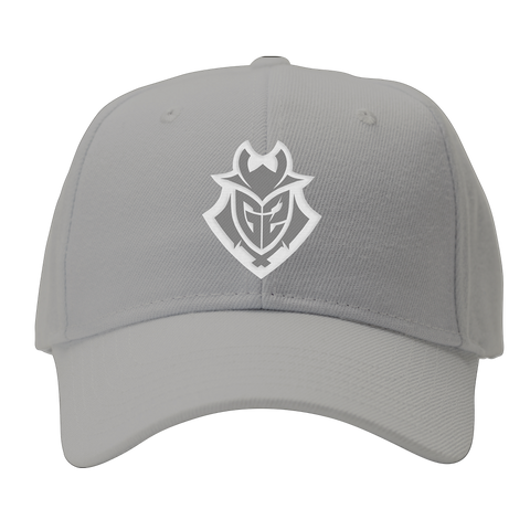 G2 Inverse Baseball Cap - Light Grey - G2 Esports Official EU Shop