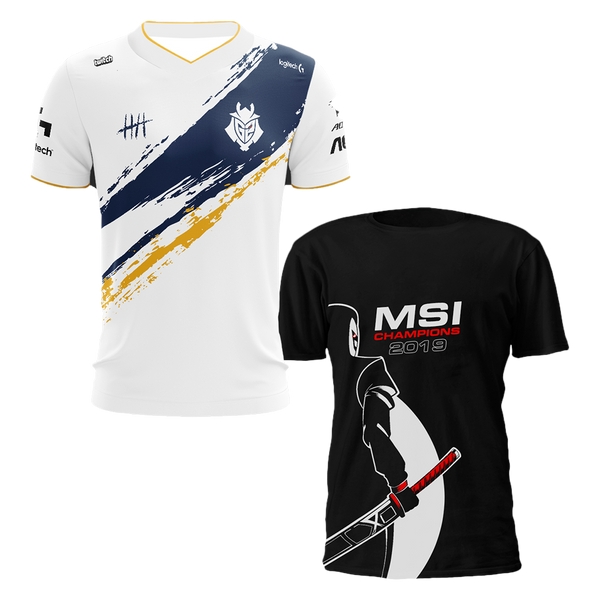 MSI Jersey and T-Shirt Bundle