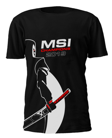 MSI Champions T-Shirt - G2 Esports Official EU Shop