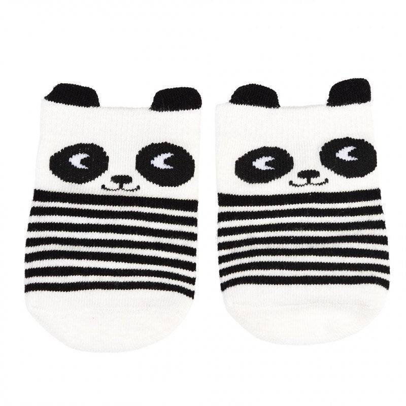 Miko the Panda socks (one pair).