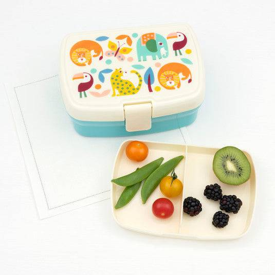 Wild Wonders Lunch Box With Tray