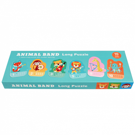 Animal Band Long Puzzle.
