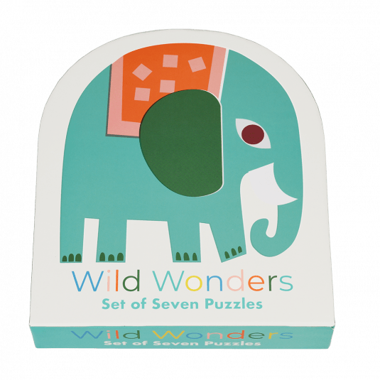 Wild Wonders Set Of Seven Puzzles