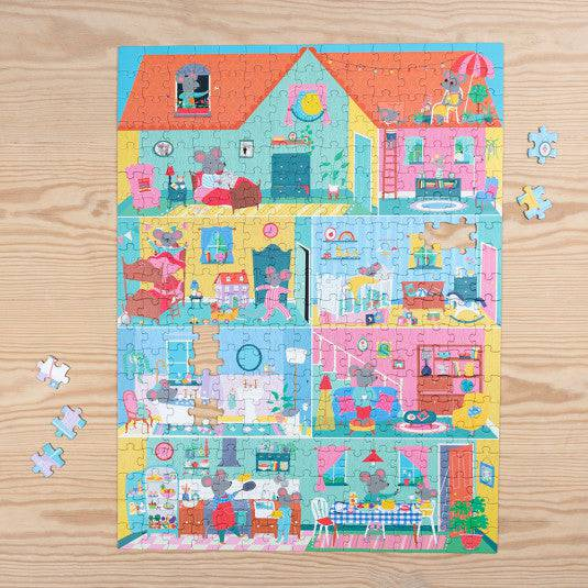 Mouse in a House 300 Piece Puzzle.