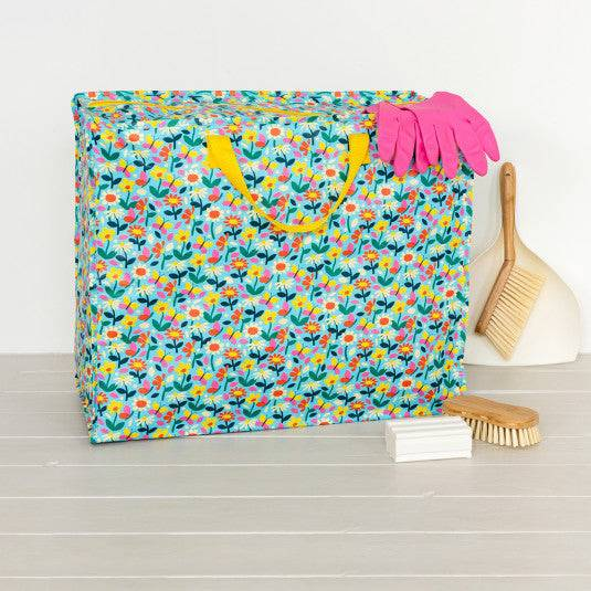 Butterfly Garden Recycled Plastic Jumbo Storage Bag.
