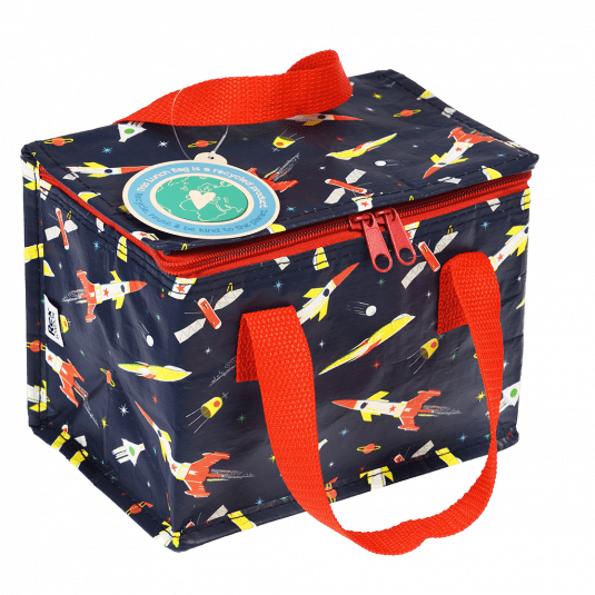 Space Age Rocket Recycled Plastic Jumbo Storage Bag.