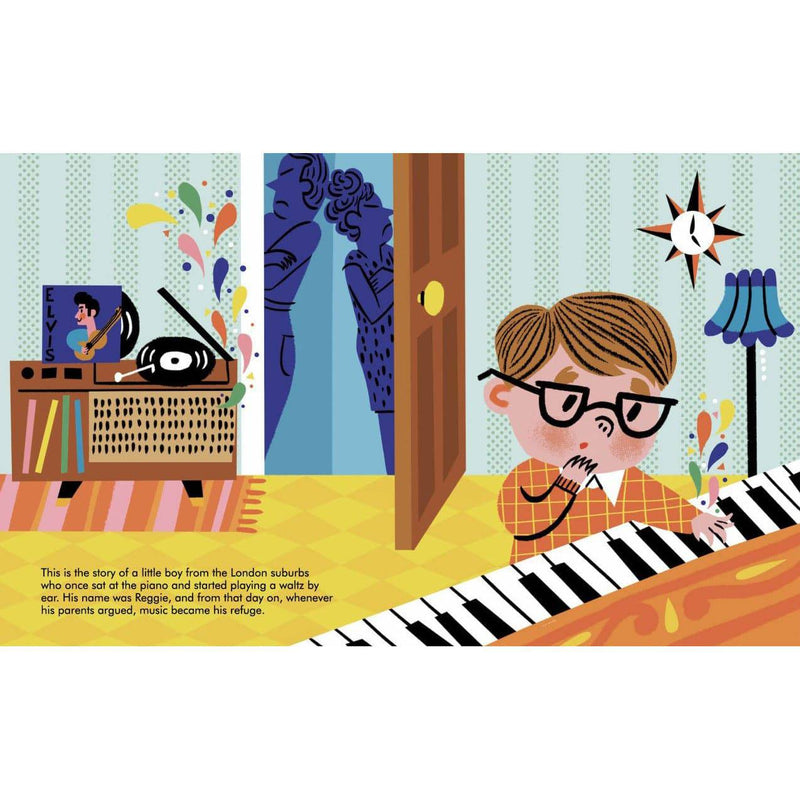 Little people, big dreams: Elton John
