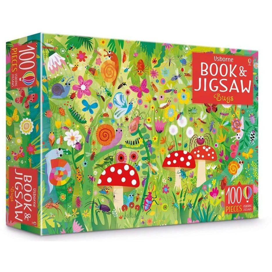 Usborne Book And Jigsaw: Bugs