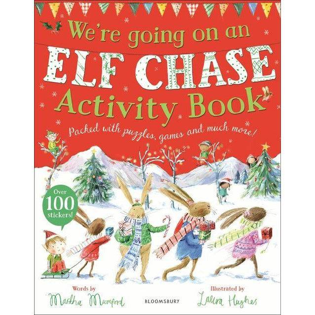 Were Going On An Elf Chase Activity Book.