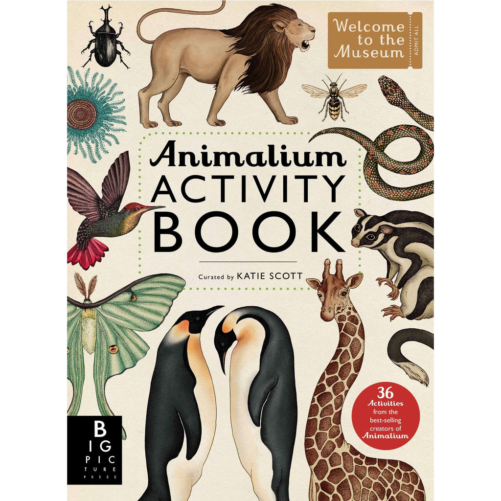 Animalium Activity Book.