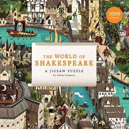 World Of Shakespeare Jigsaw Puzzle.