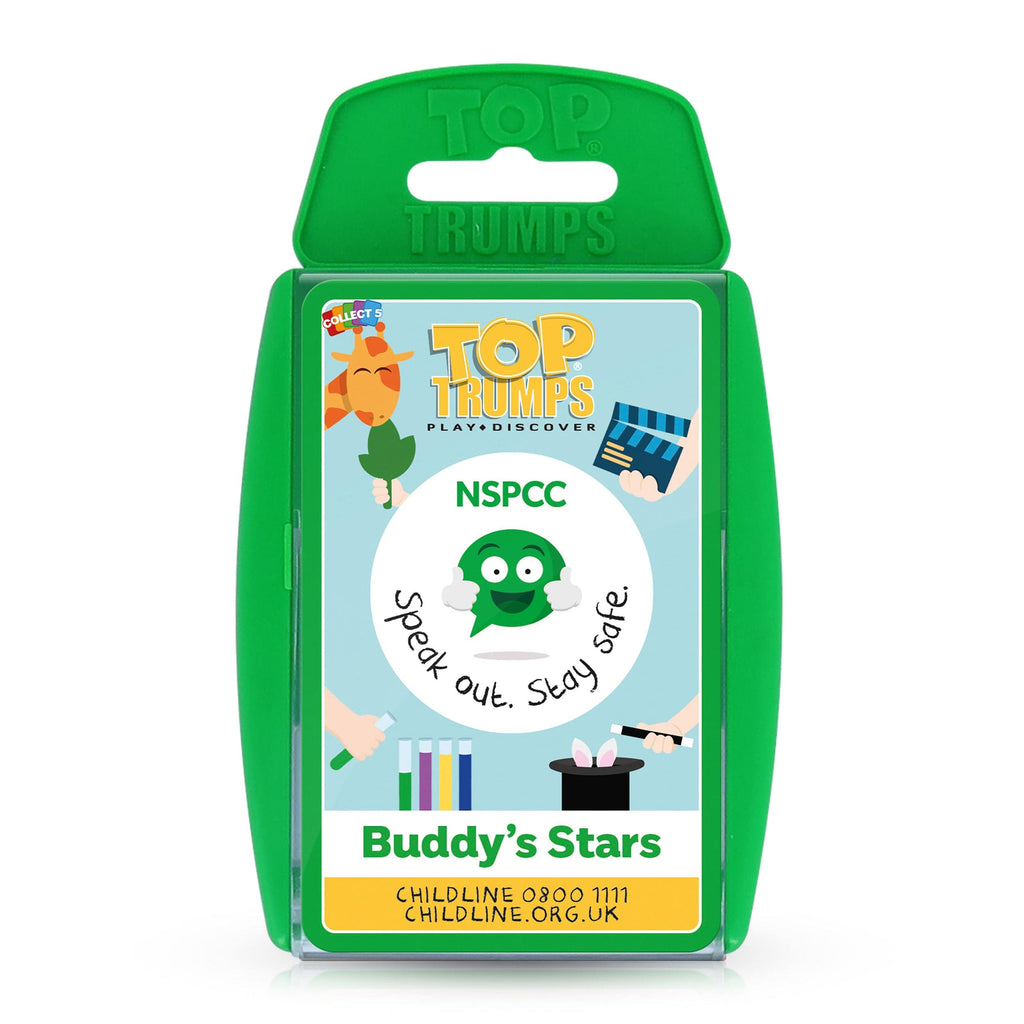 "BUDDY Top Trumps card set ""Buddy's Stars"""