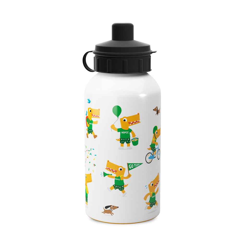 PANTOSAURUS 600ml metal water bottle.