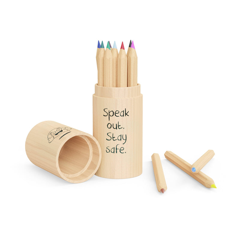 BUDDY 12 piece mini pencil set