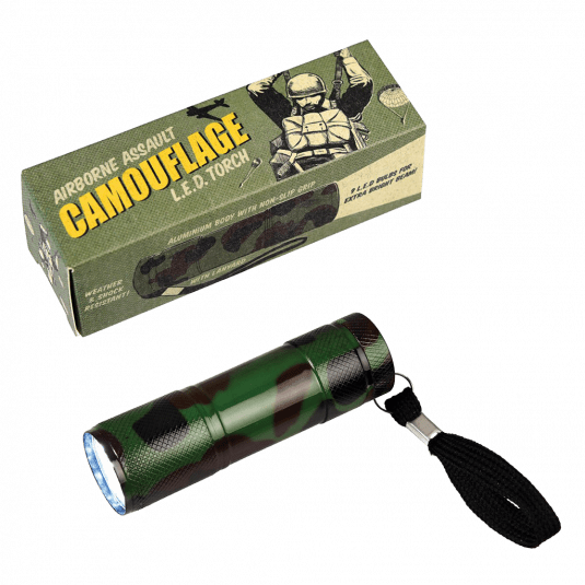 Camouflage Print LED Torch.