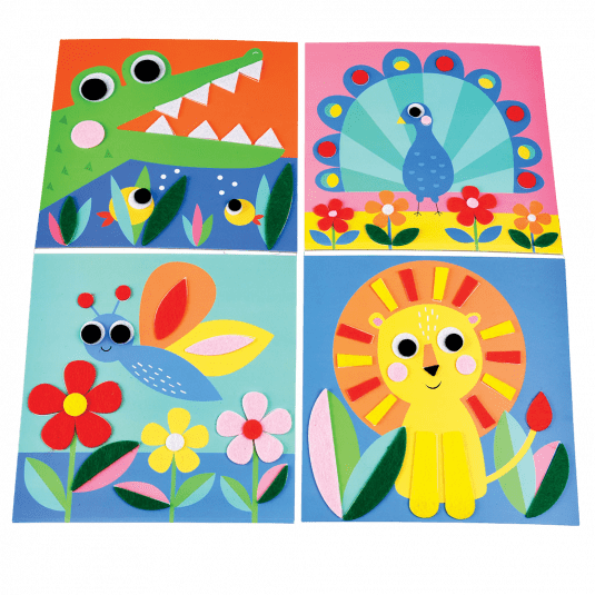 Animal Felt Picture Kit