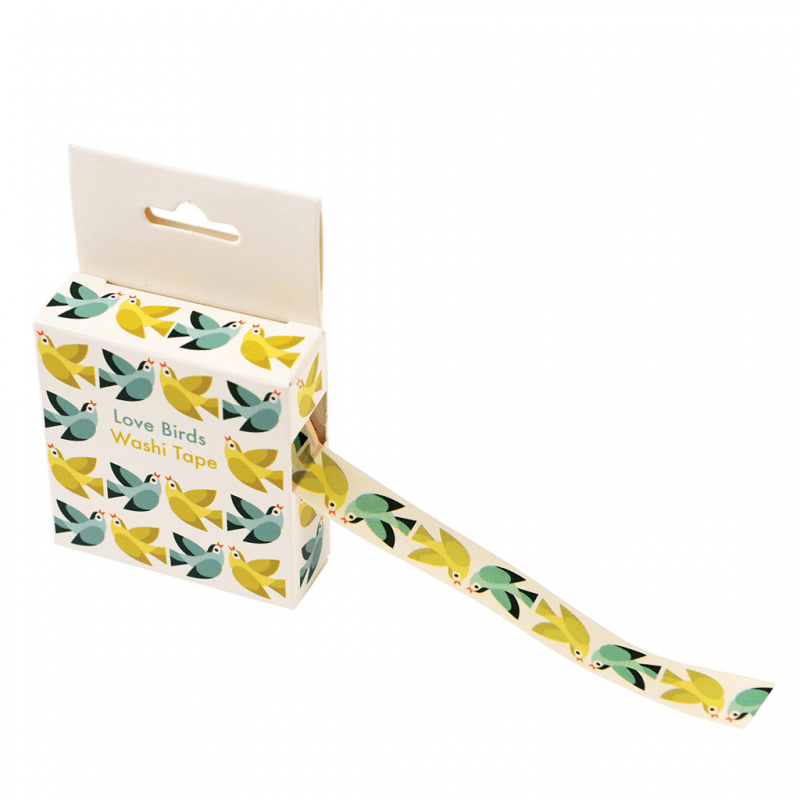 Love birds washi tape.
