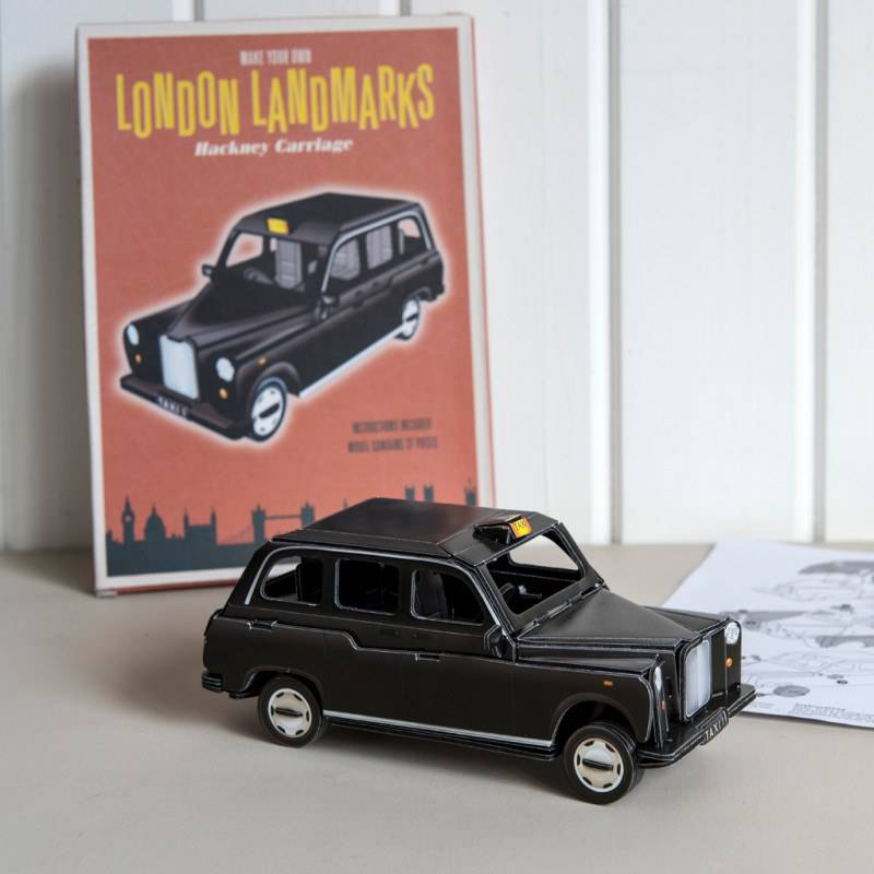 Make your own London taxi.