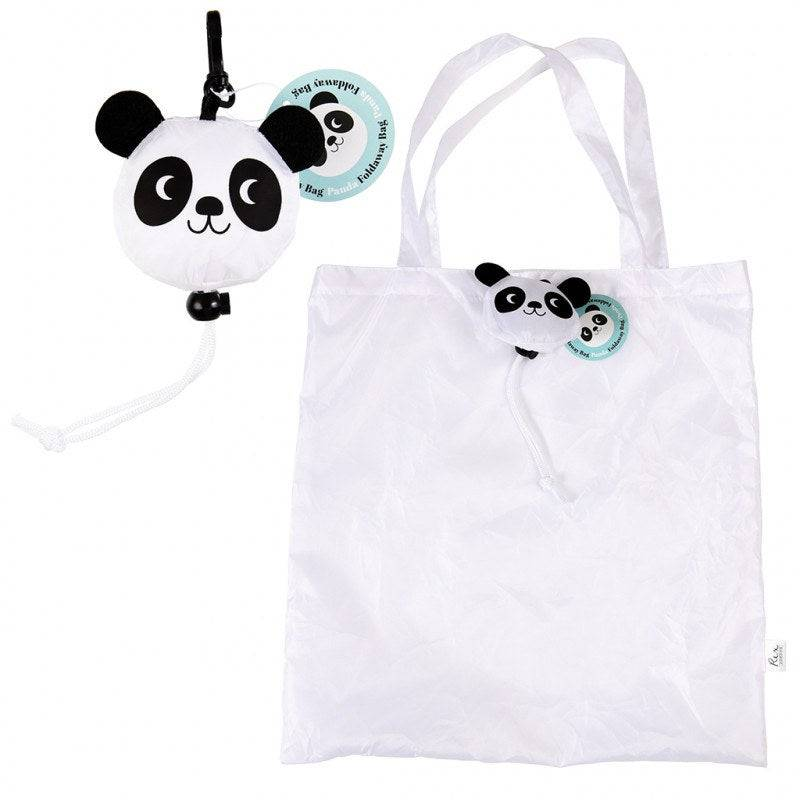 Mike the Panda foldaway bag.