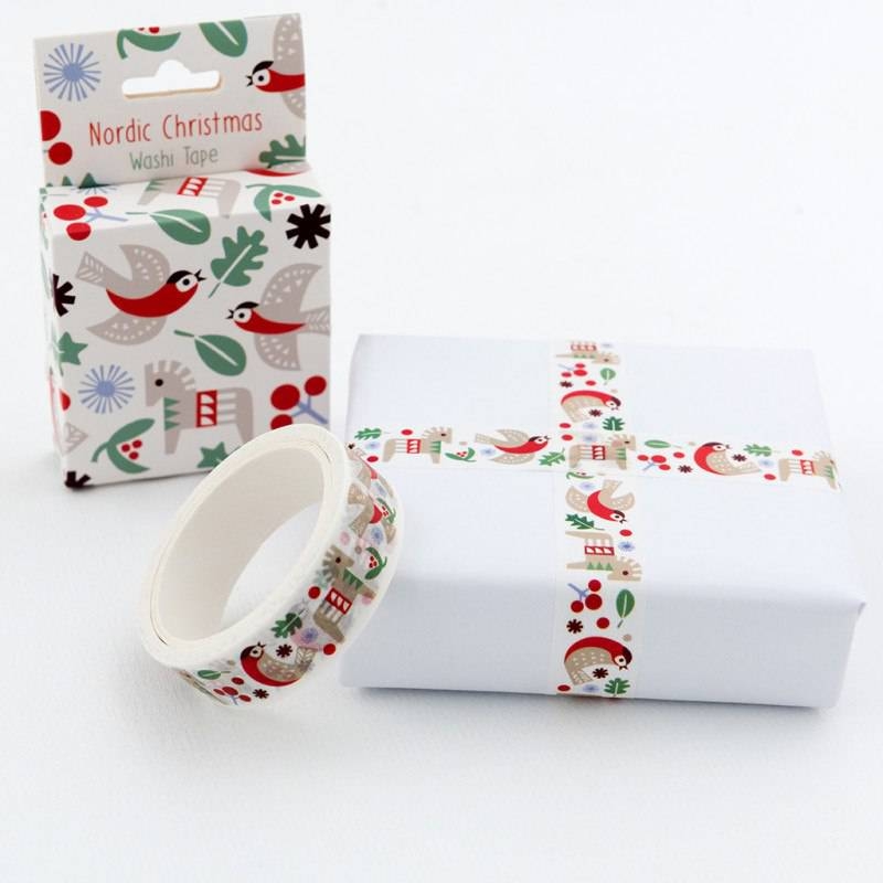Nordic Christmas washi tape.