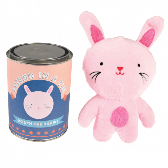 Robyn The Rabbit Friend In A Tin