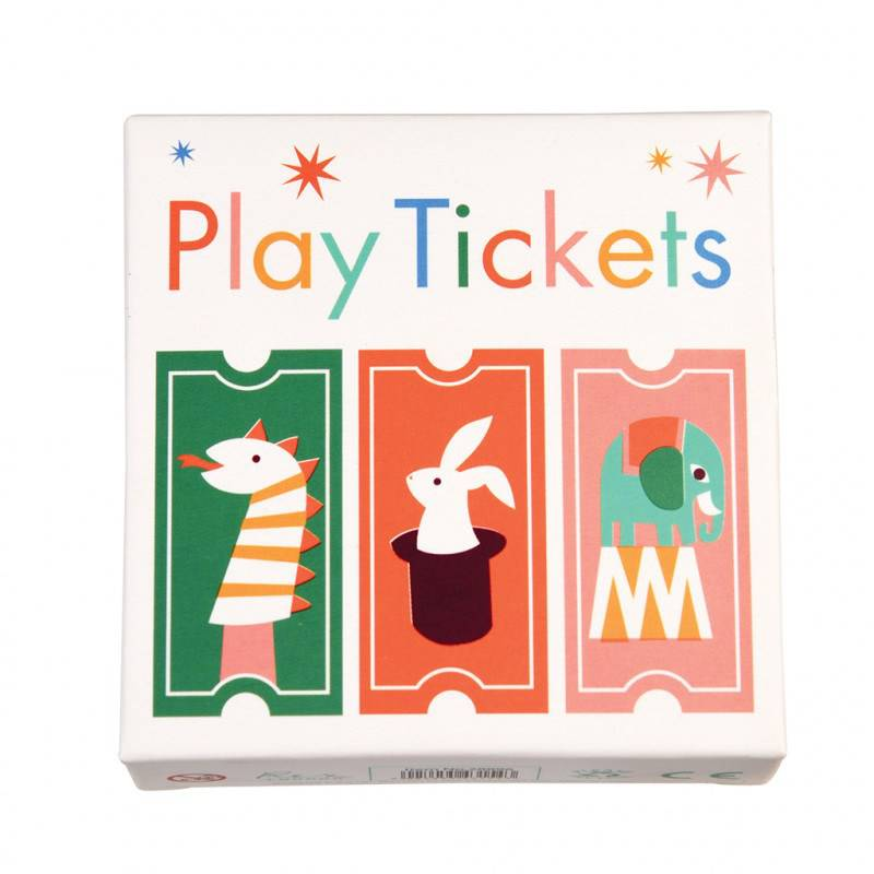 Roll of play tickets.