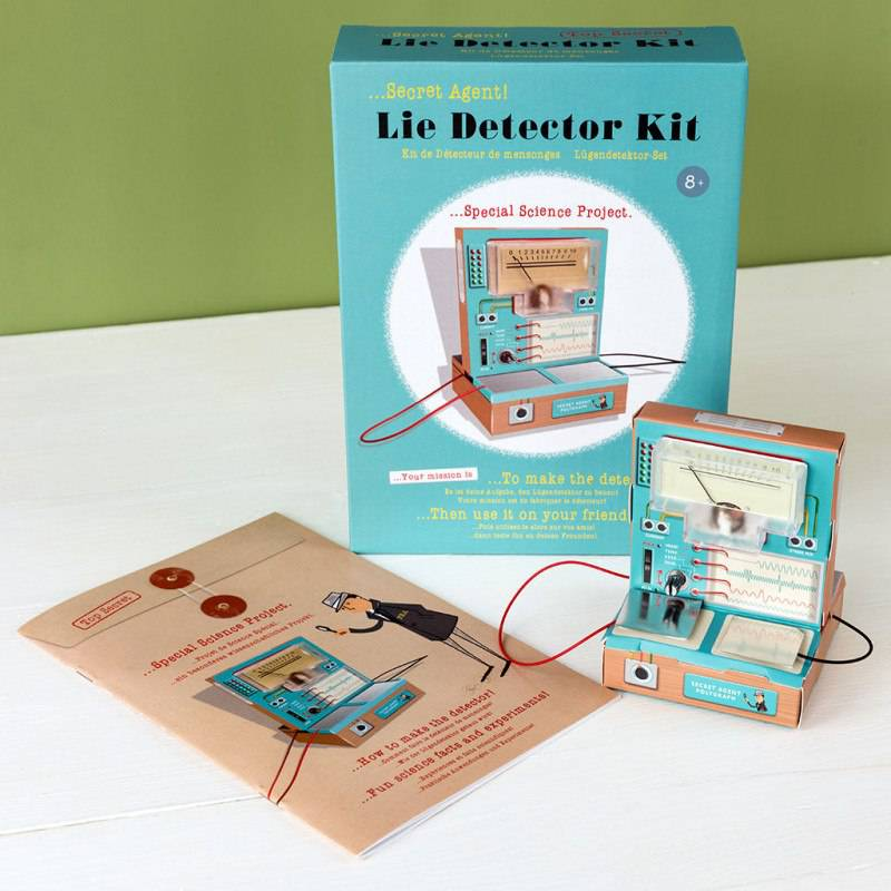Secret Agent lie detector kit.
