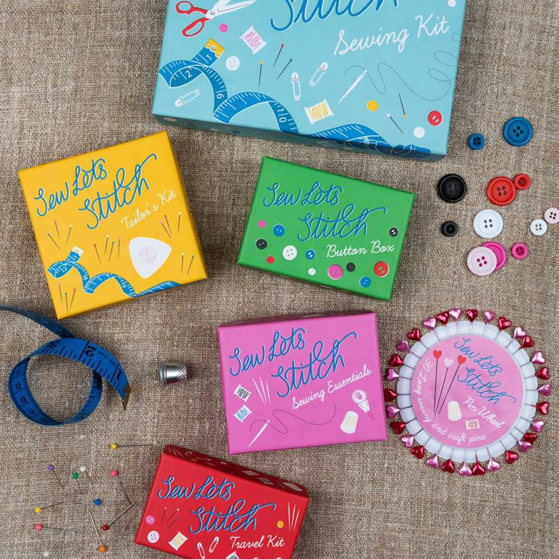 Sew let's stitch travel kit.